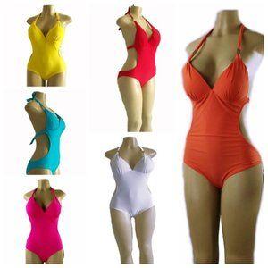 one  Piece Halter Swimsuits